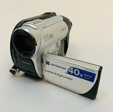 Sony DCR-DVD108 Handycam Camcorder 40x Optical Zoom Carl Zeiss Lens Untested
