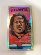Devonta Freeman 2014 Topps Chrome Mini Rookie Card Limited 72/99 Atlanta Falcons