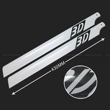 500 Helicopter 430MM Carbon Fiber Main rotor blade fit Align Trex 500 kit