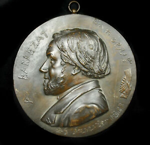 Medallion IN Gustave Barbezat Foundry Art Of Val D'Osne Mathurin Moreau 1863