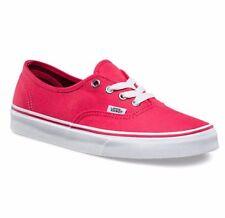 VANS Authentic Teaberry/True White Skate Shoes MEN'S 7.5 WOMEN'S 9