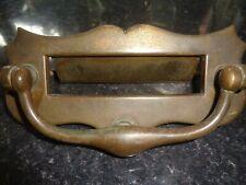 Edwardian Brass Letterbox