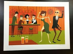 """THE INVISIBLE MAN"" SHAG JOSH AGLE SIGNED LIMITED EDITION SCREEN PRINT $165"