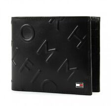 Tommy Hilfiger Deboss cc Wallet monedero Black negro nuevo