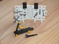 Playmobil lot outils pour garage voiture, mécanique, mécanicien