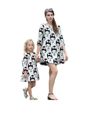 UK Mother and Daughter Matching Dress Costume Party 4 Year UK Size 12 Medium