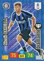 CARD ADRENALYN COLLEZIONE PANINI 2019/20*DIAMANTE-INTER BARELLA -N.409