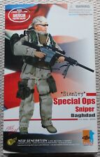 "Dragon Action Figure 1/6 12"" EE. UU. Bagdad Stanley SPEC OPS Juguete hizo Cyber Hot Toys"