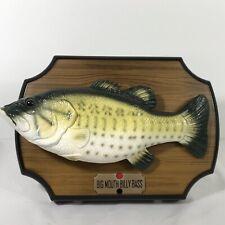 Gemmy Big Mouth Billy Bass Singing Fish 1999 Vintage