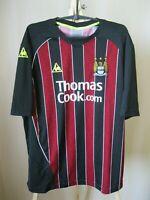 Manchester City 2008/2009 away Sz XL Le Coq Sportif shirt jersey maillot soccer
