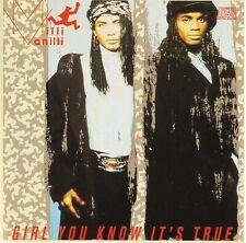 MILLI VANILLI Girl You Know It's True VG 1989 Arista/CRC club USA DADC press