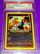 Pokemon Black Star Entei Holo #34  Promo PSA 9