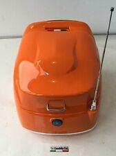 Roller MOTORROLLER RETRO orange  ca. 40 L TOPCASE Antenne GEPÄCK KOFFER Scooter