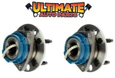 Front Wheel Bearing Hubs ABS (Pair, Left & Right) for 05-09 Buick Allure