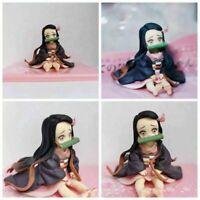 Anime Demon Slayer Kimetsu no Yaiba Kamado Nezuko Q version PVC Action Figure AU