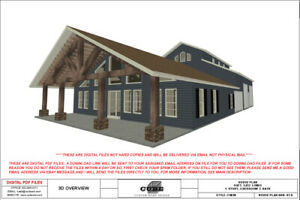 BRN 07-D-HOUSE FLOOR PLANS-SQFT-1,932 4 BEDRM, 3 BATH 1 STORY, BARNDOMINIUM