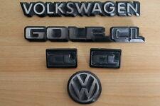 vw Golf 2 typ 19e CL Emblem Schriftzug hinten / g60 16v Edition One Blue gti