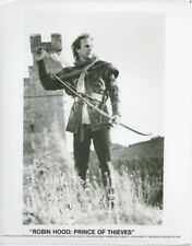 Robin Hood Prince of Thieves original 1991 8x10 photo Kevin Costner with bow