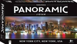 Panoramic Mindbogglers - New York City, New York USA - 1000 Piece Jigsaw Puzzle