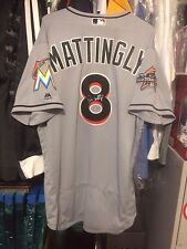 Game Used Don Mattingly Miami Marlins Jersey (04/03/2017)