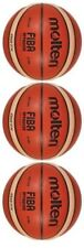 3 X Balls 100% Authentic MOLTEN GG7 X (BGG7x) Basketball FIBA Composite Leather