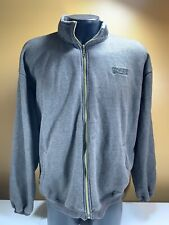 Skywalker Ranch Gray Fleece Full Zip Jacket Size XL Extra Large