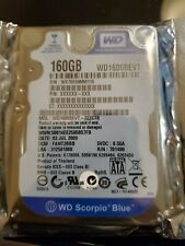 WD1600BEVT-22ZCT0, DCM FANT2BBB, Western Digital 160GB SATA 2.5 Hard Drive