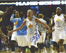 Courtney Vandersloot Signed 8 x 10 Photo Wnba Chicago Sky Basketball Gonzaga