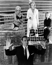 SEAN CONNERY James Bond GUN PHOTO Sexy HONOR BLACKMAN Goldfinger TANIA MALLET
