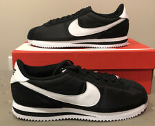 Nike Cortez Basic Nylon Casual Shoes Black/White 819720-011 US 8.5