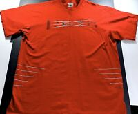 Rare Vintage NIKE Tuned Air Spell Out Swoosh T Shirt 90s 2000s Red SZ XL