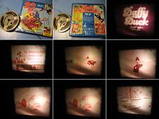8 mm Film Trickfilm:Daffy Duck.Ente gut alles gut.TonfilmS8.Antique Comedy Films