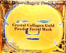 Gold Premium Collagen Bio Crystal Face Masks Eye Anti Ageing Skin Care Moisture