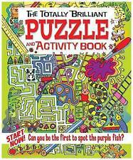 The Totally Brilliant Puzzle and Activity Book,Lisa Regan,Excellent Book mon0000