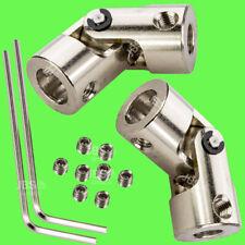 ► 2 Stk 5mm x 8mm Wellenkupplung flexibel Kardan 5 x 8 Winkel Kardangelenk 8x5