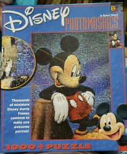 Disney Photomosaic Jigsaw Puzzle Mickey Mouse 1026 pcs Robert Silvers