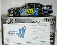 2010 Jimmie Johnson #48 Jimmie Johnson Foundation AUTOGRAPHED 1/24 car W/COA WOW