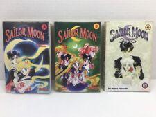 Lot 3 Manga Graphic Novel Sailor Moon 2 3 4 Naoko Takeuchi Tokyopop Chix Comix
