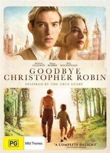 GOODBYE CHRISTOPHER ROBIN New Dvd DOMHNALL GLEESON MARGOT ROBBIE ***