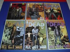Lot of 6 Walking Dead Image Comics Issues 115 (X2) + 116-119 in NM COND 2013 039