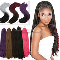 "US Faux Locs Dread Lock 15"" Crochet Twist Braid Ombre Dreadlocks Hair Extensions"