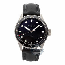 Blancpain Fifty Fathoms Bathyscaphe Auto 43mm Titanium Mens Watch 5000-1230-B52A
