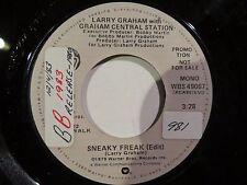 LARRY GRAHAM GRAHAM CENTRAL STATION SNEAKY FREAK / MONO WARNER BROS #49067 N/M