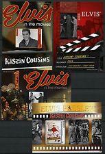St. Vincent Bequia 2011 Elvis Presley Musik Sänger Kino Cinema Block 70-73 MNH