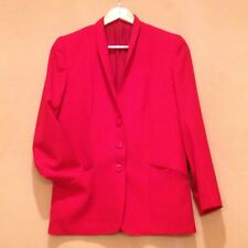Women Blazer w/ 3 front buttons long sleeves - Italian size 44