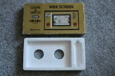 NINTENDO GAME & WATCH CHEF EMPTY BOX AND POLY TRAY INNER