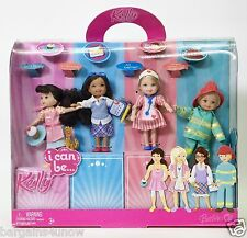 BARBIE I CAN BE KELLY KAYLA MIRANDA AND TOMMY DOLLS LOVE TO PLAY DRESS UP NRFB