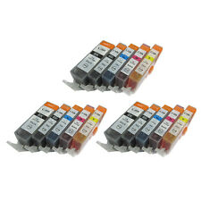 15 Ink Cartridges For Canon Pixma MG5150 MG5250 MG5350 MG6150