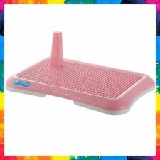 DOG TRAINING TOILET Puppy Pad Holder Tray Potty Trainer for Pets Cat Pink MXCELL