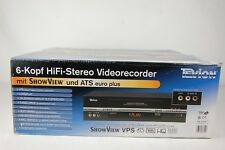 Tevion md2588 6-TESTA VIDEO RECORDER VIDEOREGISTRATORE VHS * New/Nuovo *